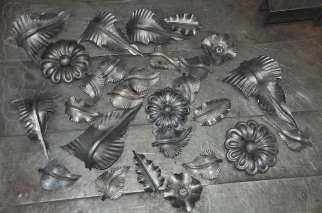 Станки для изготовления элементов ковки